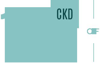 CKD Graph Legend. 10% percent 10% percent